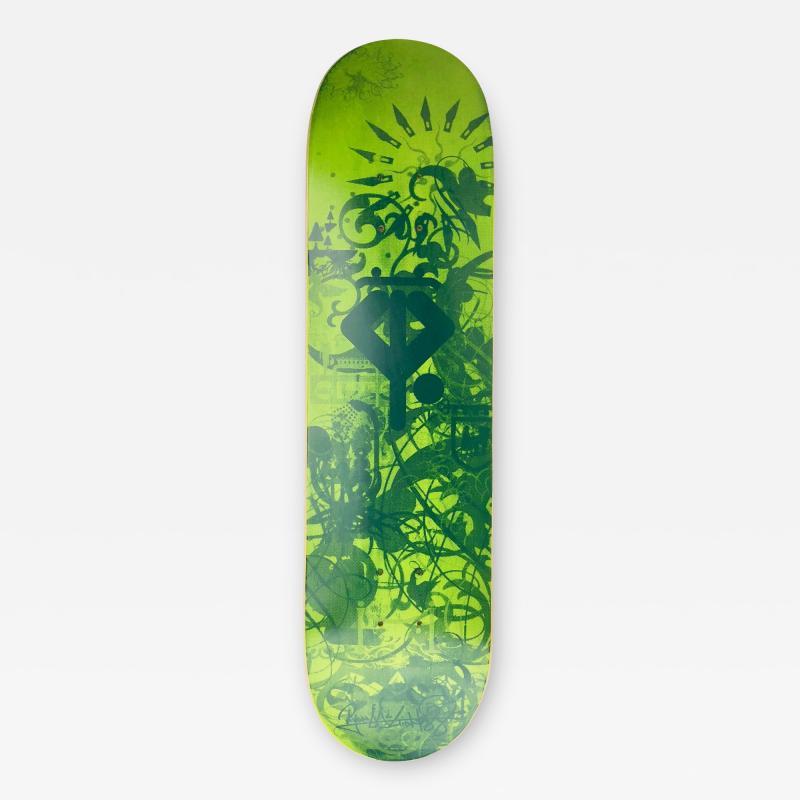 Ryan McGinness Growing Handplants Ryan McGinness Skateboard Deck Limited Edition