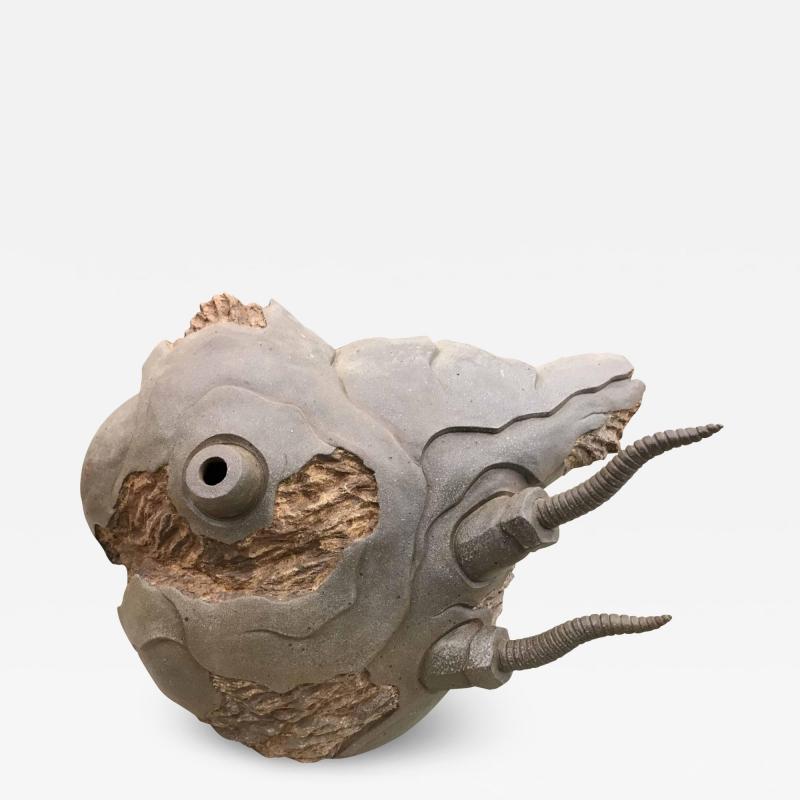 Ryo Toyonaga Ceramic Sculpture 1993