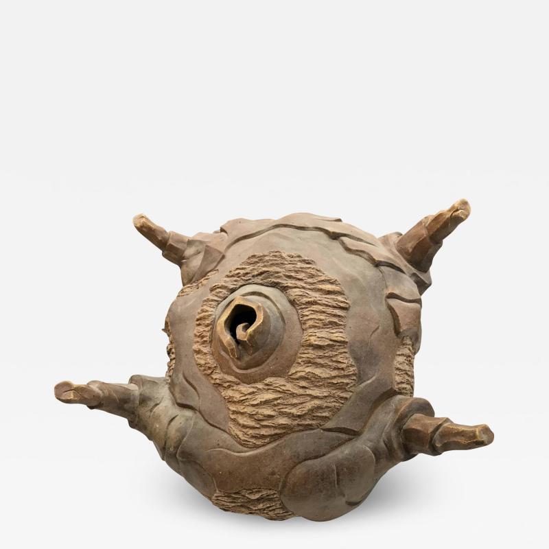 Ryo Toyonaga Ceramic Sculpture by Ryo Toyonaga 1992