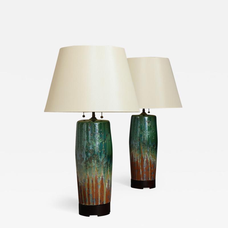 SCDS Ltd Pair of Bulldog Lamps by SCDS Ltd