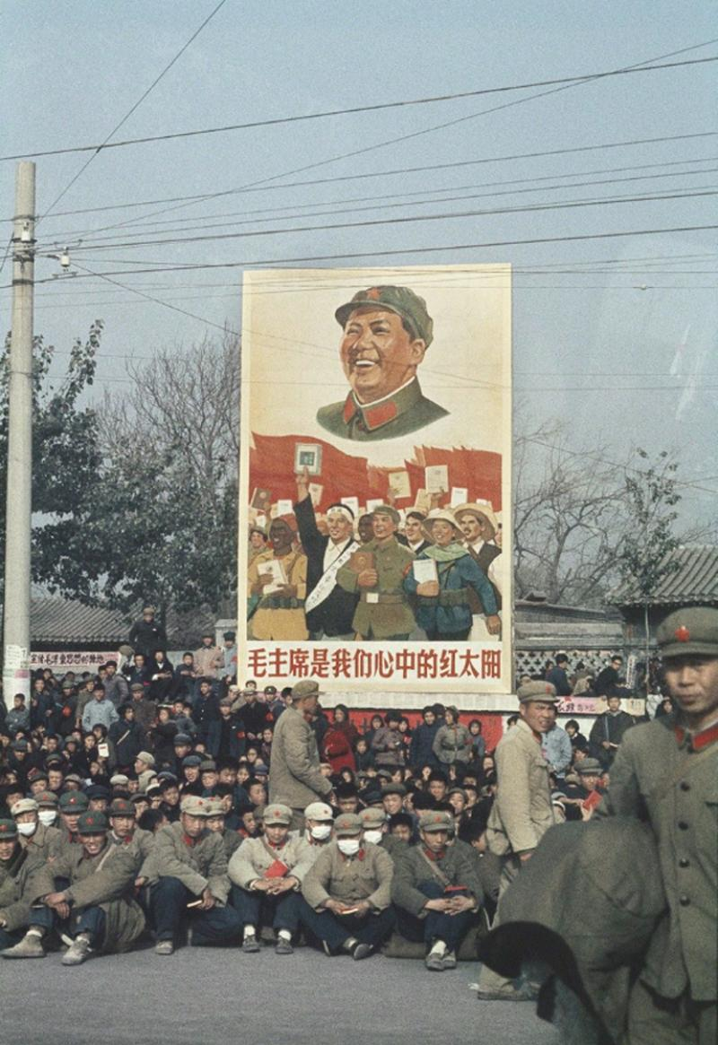 SOLANGE BRAND Untitled a demonstration Beijing China 1966