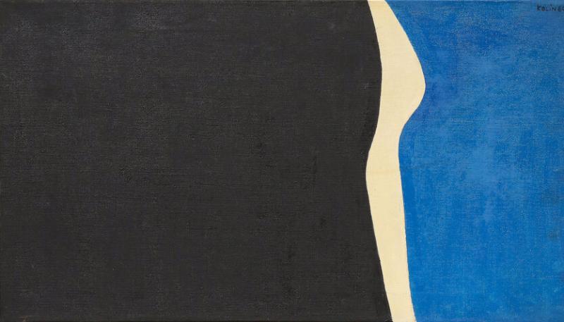 Sacha Kolin Sacha Kolin Untitled Abstract Acrylic on Canvas 1964