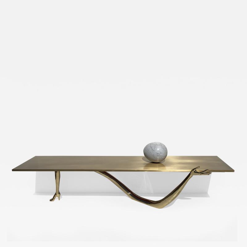 Salvador Dal Leda Hand and Foot Coffee Table by Salvador Dali