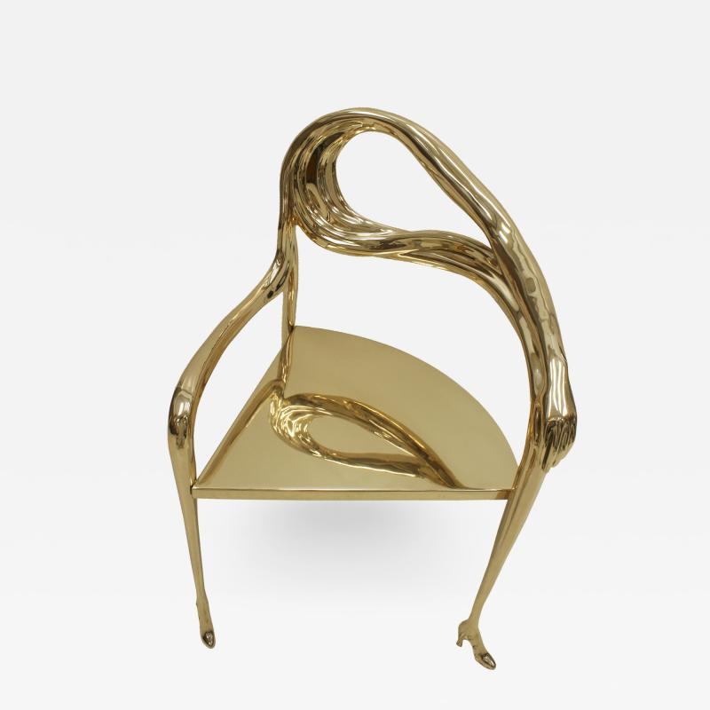 Salvador Dal Salvador Dal Leda Sculptural Chair from Femme t te de roses Painting