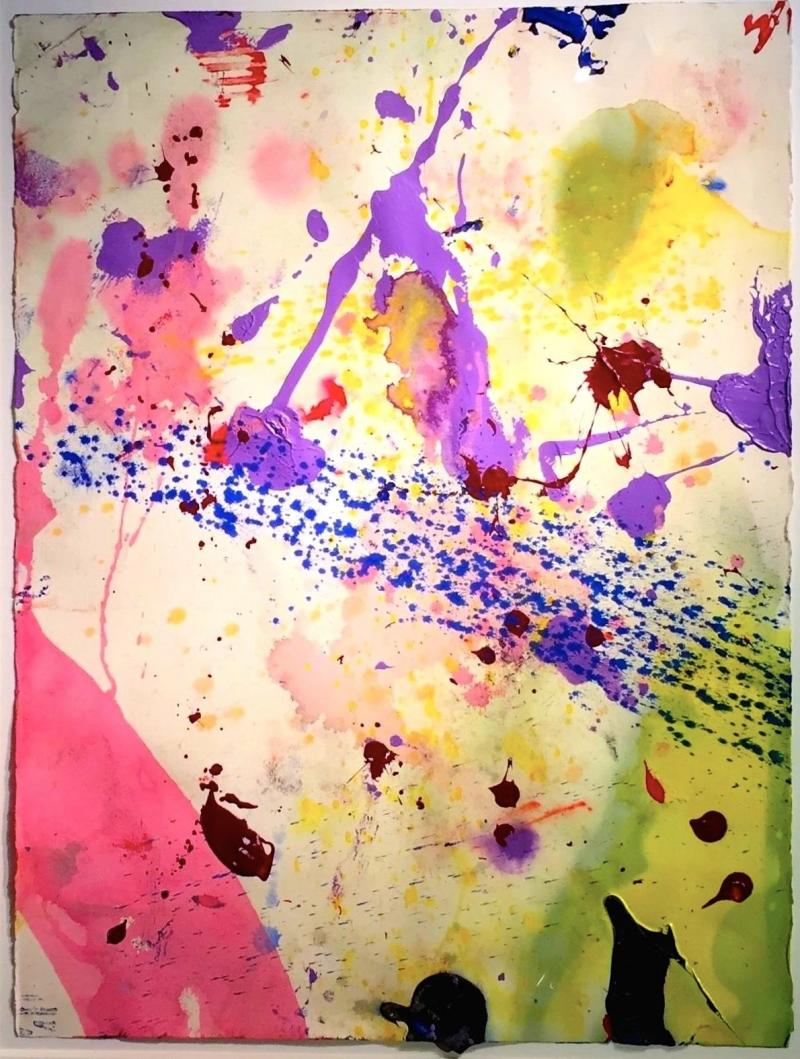 Sam Francis UNTITLED SF90 342