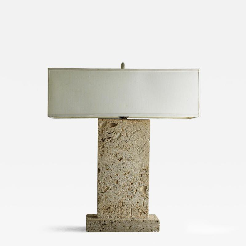 Samuel A Marx Samuel Marx Table Lamp from the Alfred Koolish Residence Bel Air