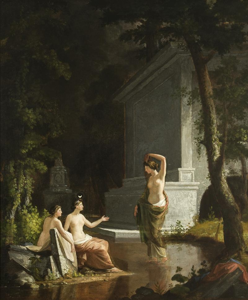 Samuel Finley Breese Morse Diana at the Fountain