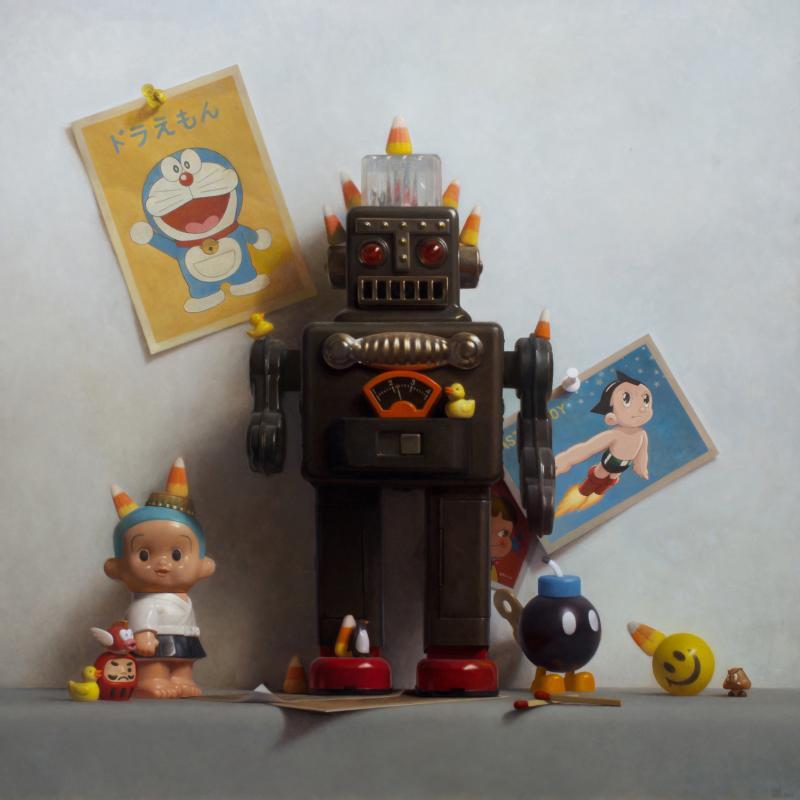 Samuel Hung Smoking Robot