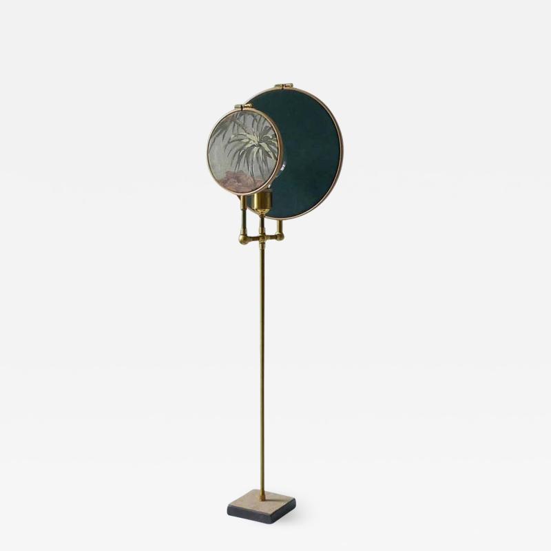Sander Bottinga Circle Blue Grey Table Lamp Sander Bottinga