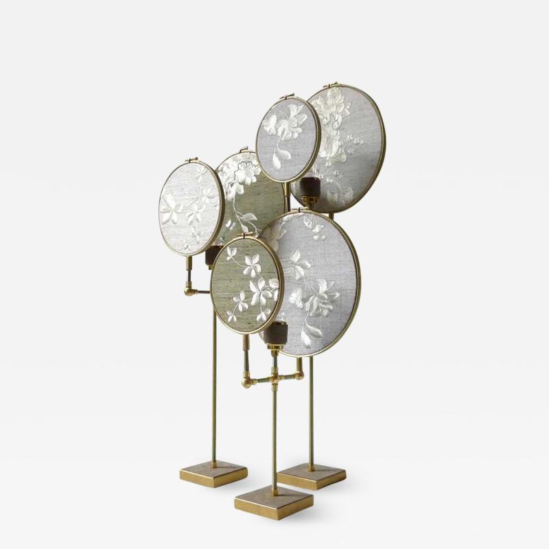 Sander Bottinga Ensemble of Three Table Lamps Sander Bottinga