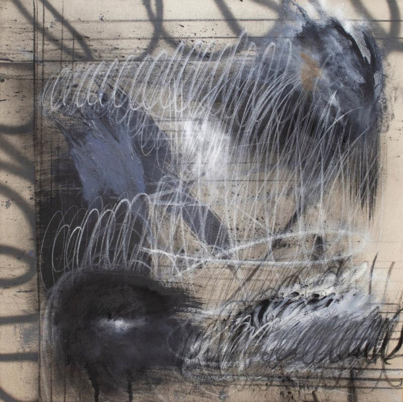 Sarah Dupr Untitled I Mixed Media on Canvas by Sarah Dupr