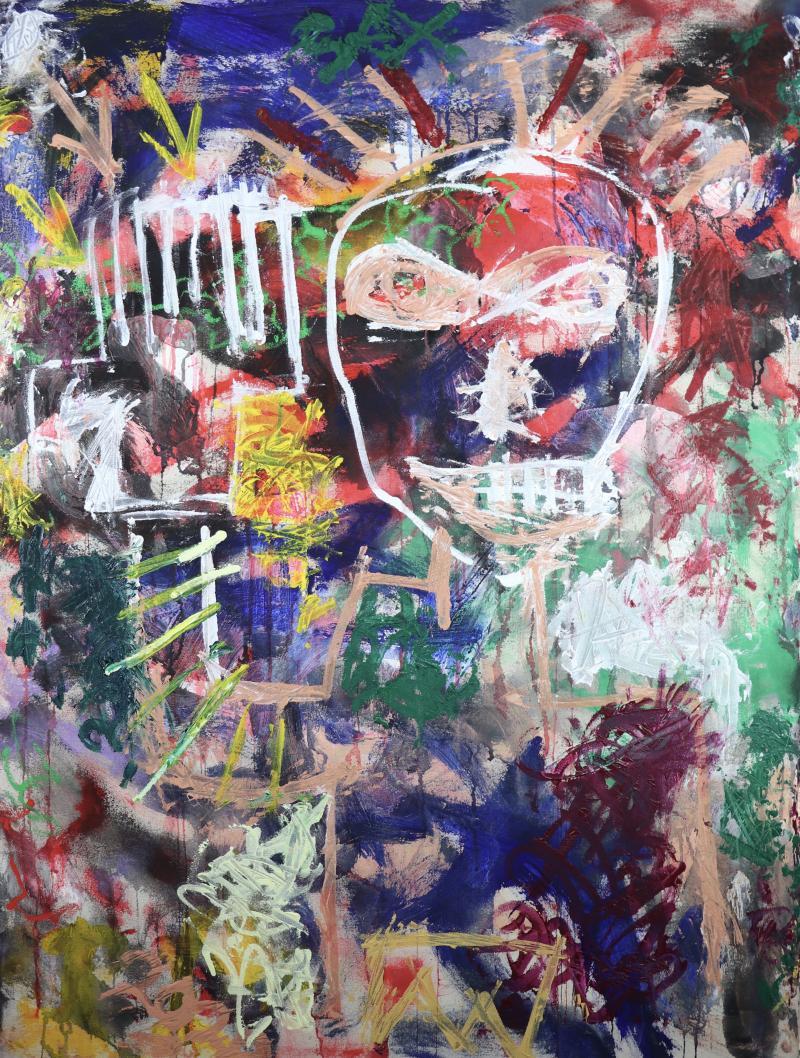 Sax Berlin Self Portrait With The Billion Dollar Hand