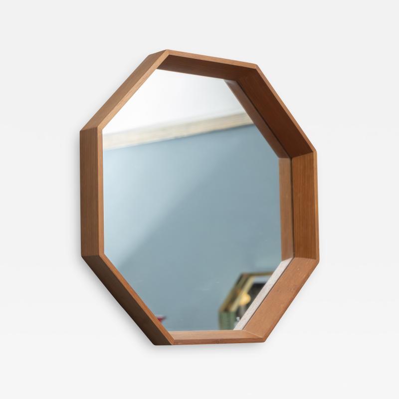 Scandinavian Modern Octagonal Wall Mirror