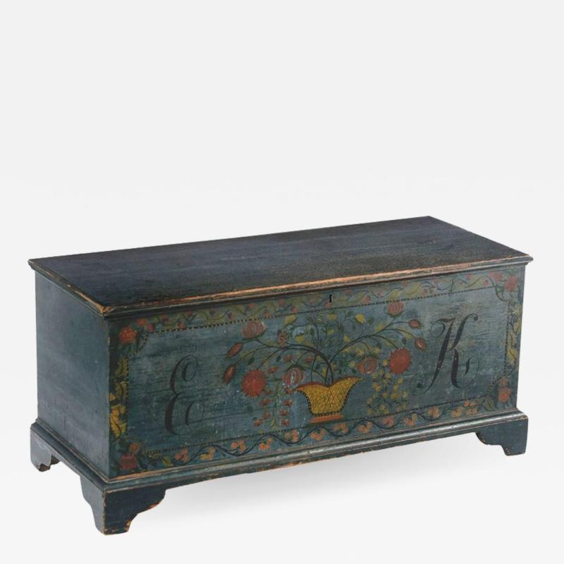Schoharie County New York State Blanket Chest