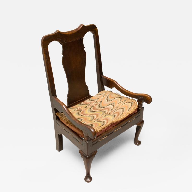 Scottish Fireside Lambing Chair circa 1760