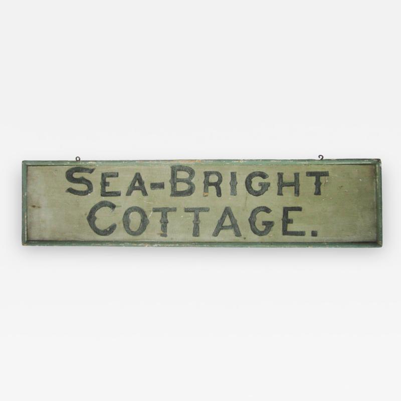 Sea Bright Cottage Signage