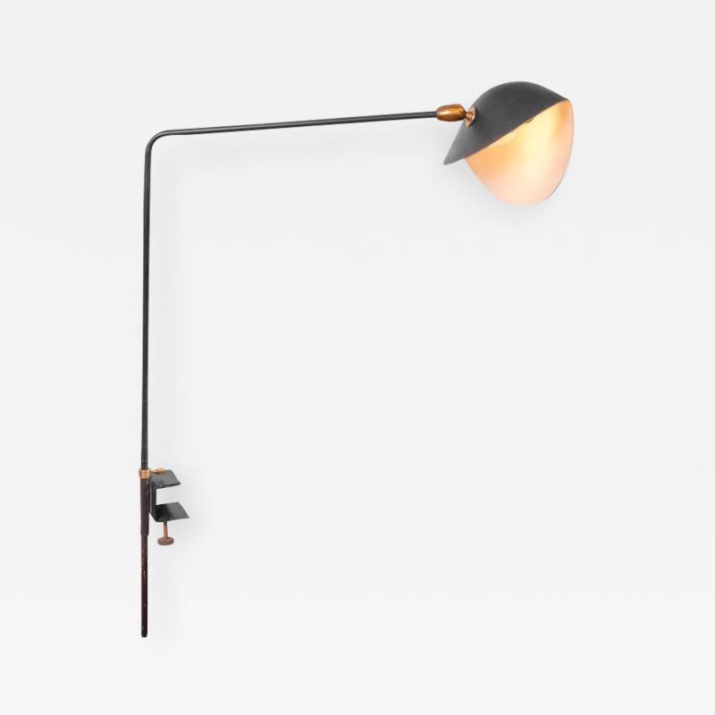 Serge Mouille Serge Mouille Agrafee Clamp on Desk Lamp France 1950s