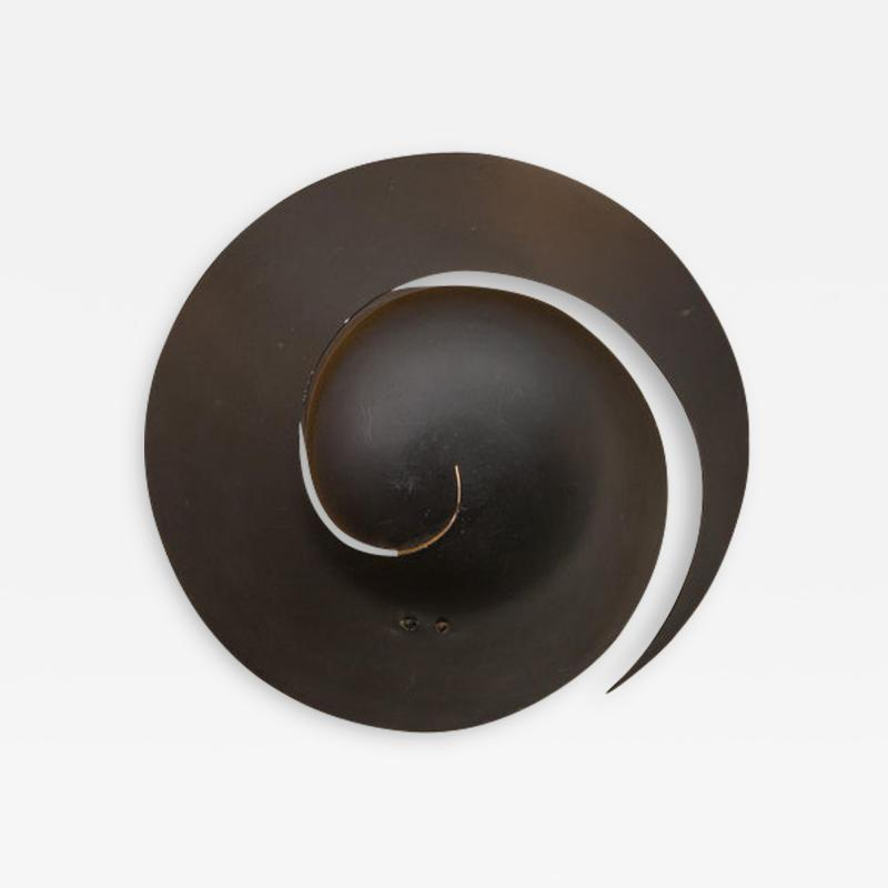 Serge Mouille Snail Sconce Attributed to Serge Mouille
