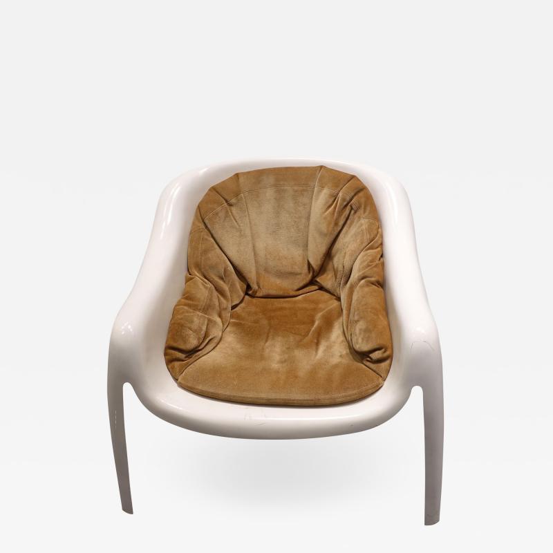 Sergio Mazza Rare Vintage Fiberglass Chairs