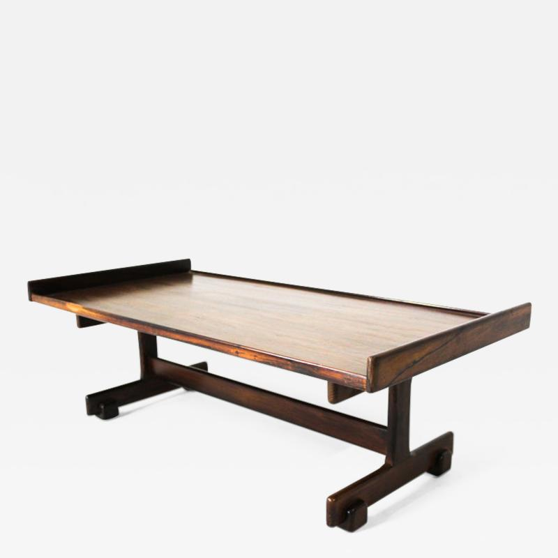 Sergio Rodrigues Mid Century Modern Rosewood Center Table by Sergio Rodrigues Brazil 1960s