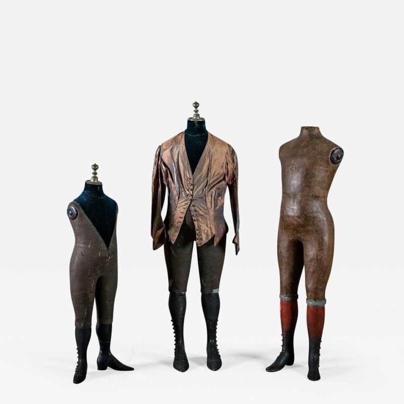 Set of 3 Edwardian Mannequins