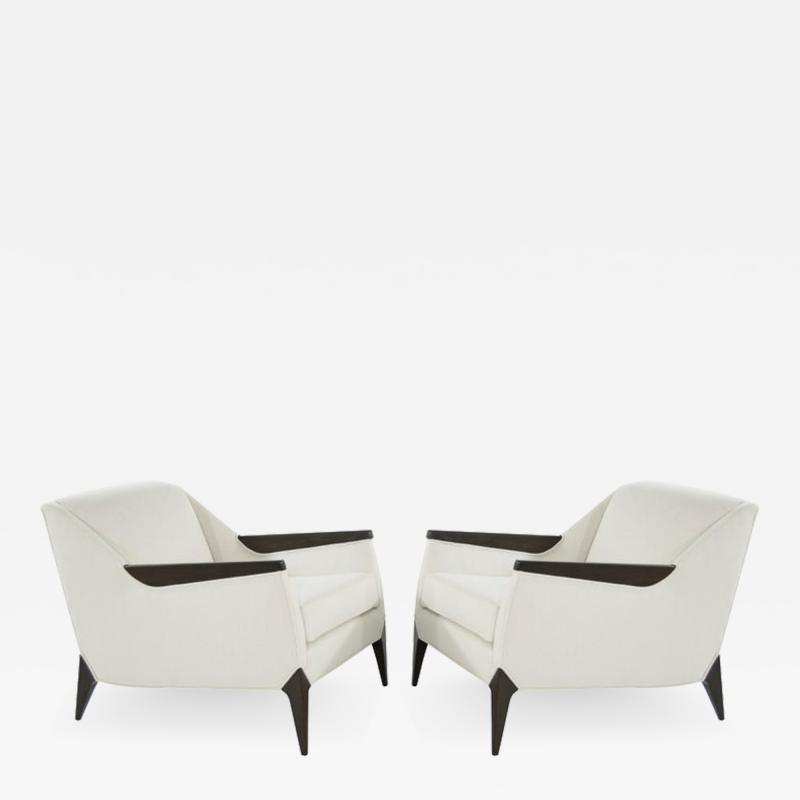 Set of Sculptural Italian Reading Lounges 1950s