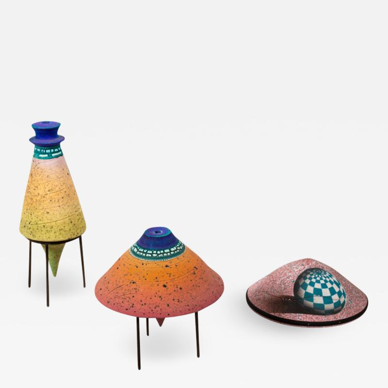 Set of Three Ceramic Works