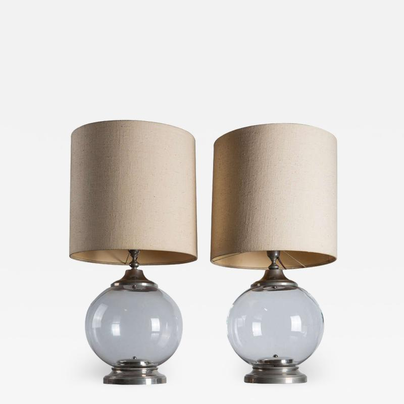 Set of Two Italian Table lamps
