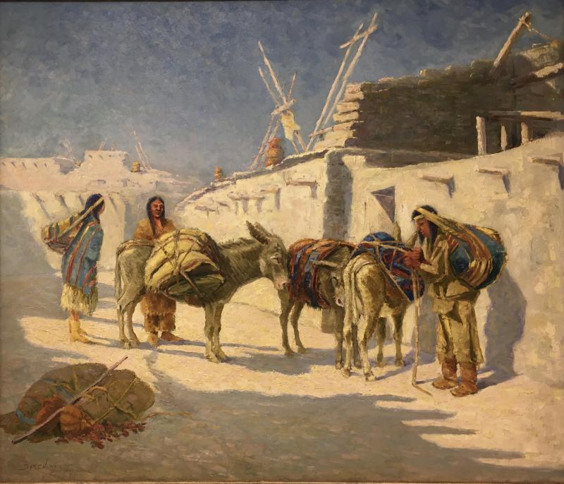 Seth C Jones Life in the Pueblo