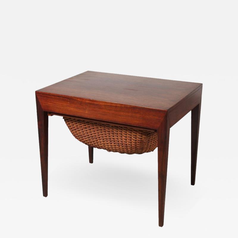 Severin Hansen Severin Hansen Sewing Table for Haslev M belsnedkeri Bovenkamp Denmark 1960