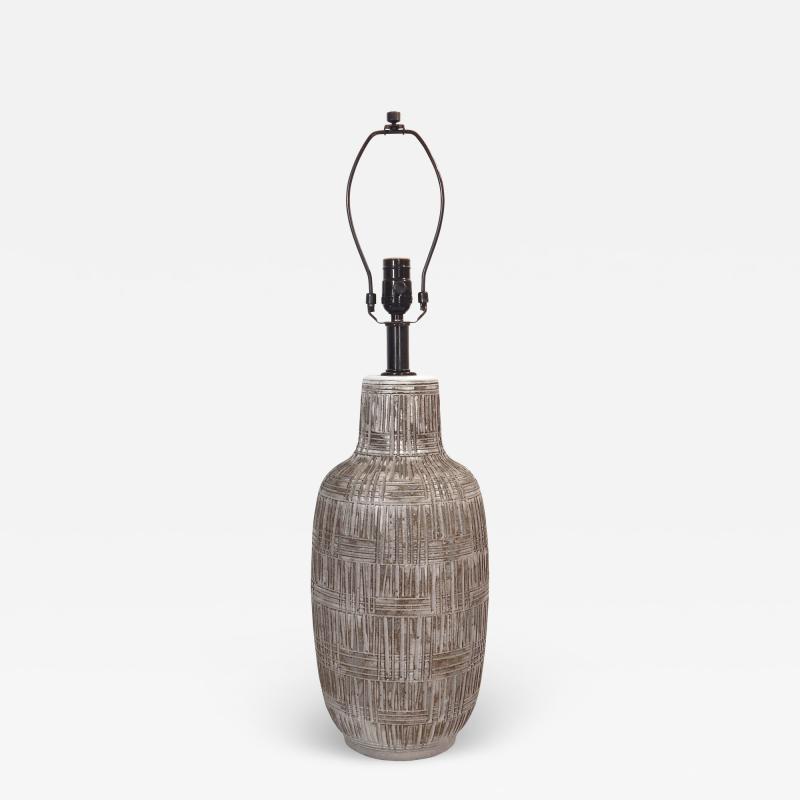Sgraffito Table Lamp