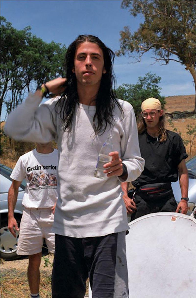 Shelli Hyrkas Dave Grohl Australia Set of Rolling Stone Magazine Cover Shoot