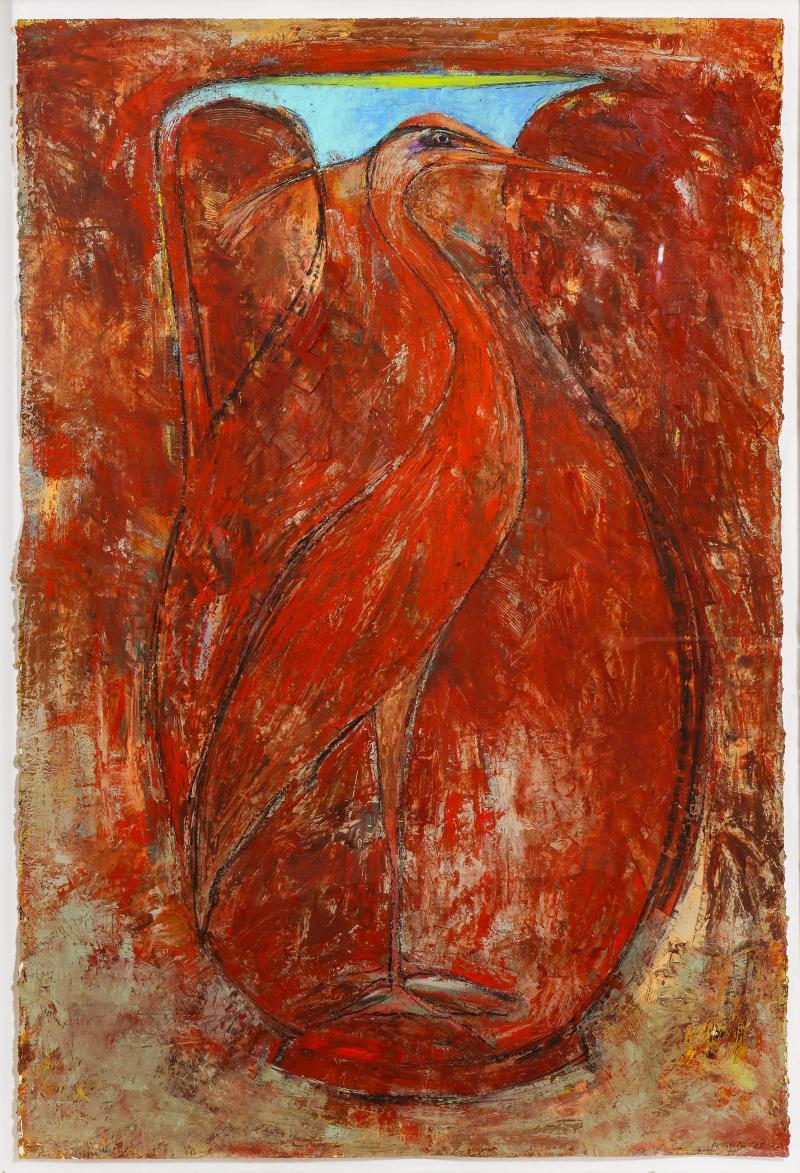 Sherri Hollaender Freedom and Entrapment Series Red Bird