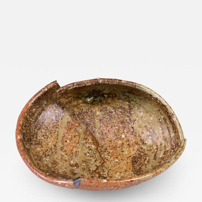 Shigaraki Kintsugi Embellished Plate