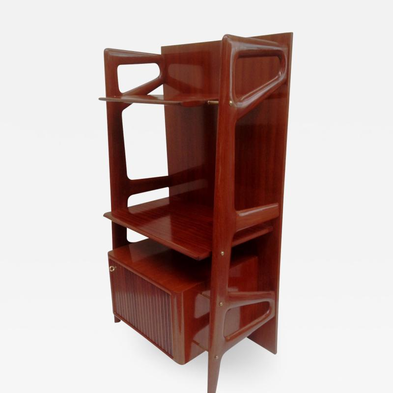 Silvio Cavatorta Book Case Dry Bar