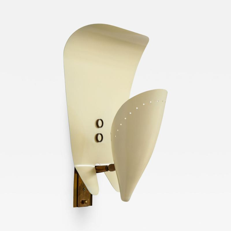Single Wall Sconce in Lacquered Aluminum