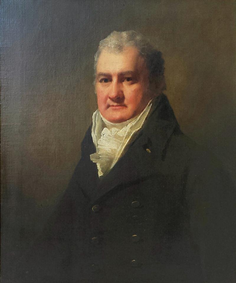 Sir Henry Raeburn Raeburn Half Length Portrait of Mr Robertson