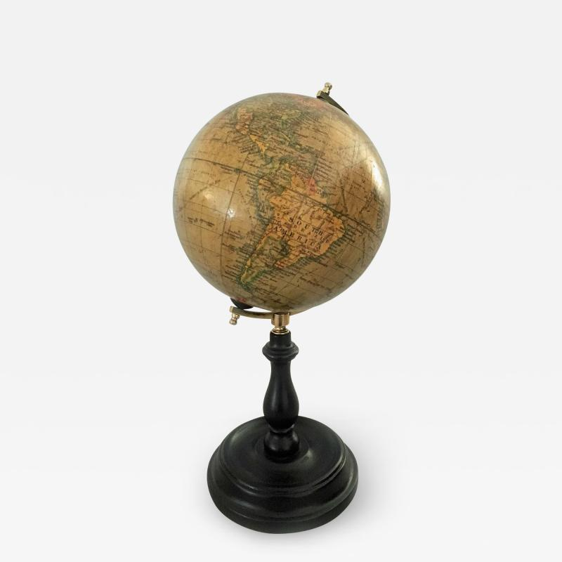 Six Inch Terrestrial Geographia Desk Globe