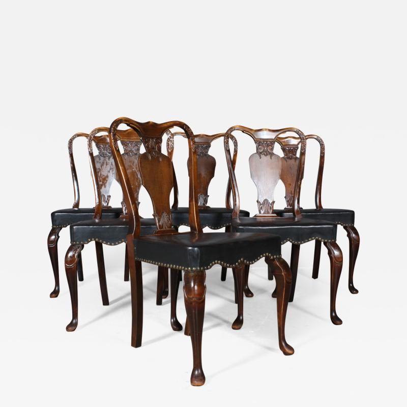 Six chairs in Rococo style 1st half 1900s 6