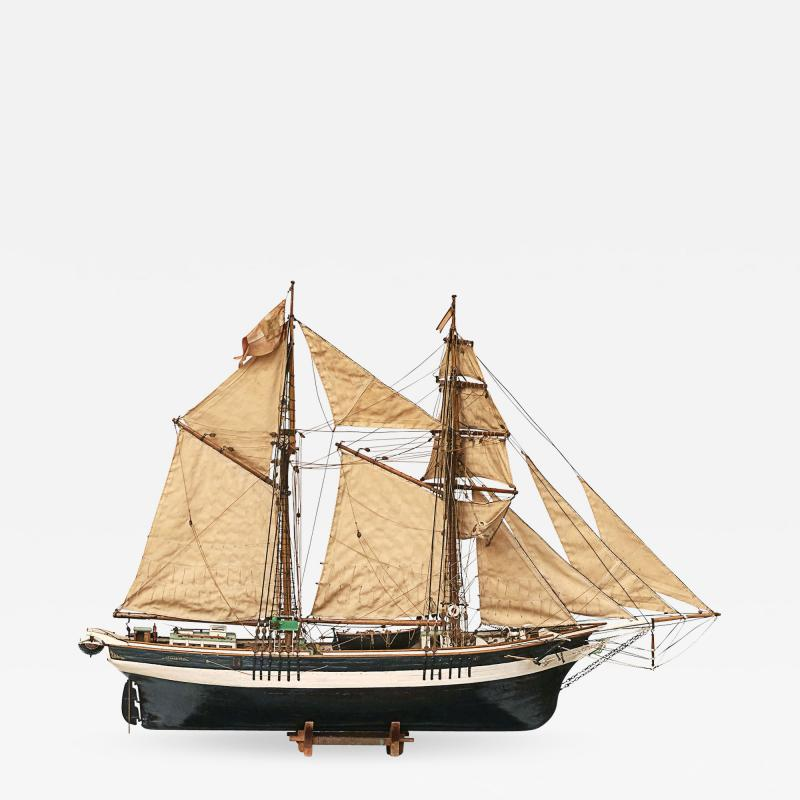 Skonnert Danish model ship