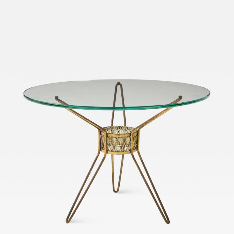 Small Occasion Tripod Table Italy c 1950 s
