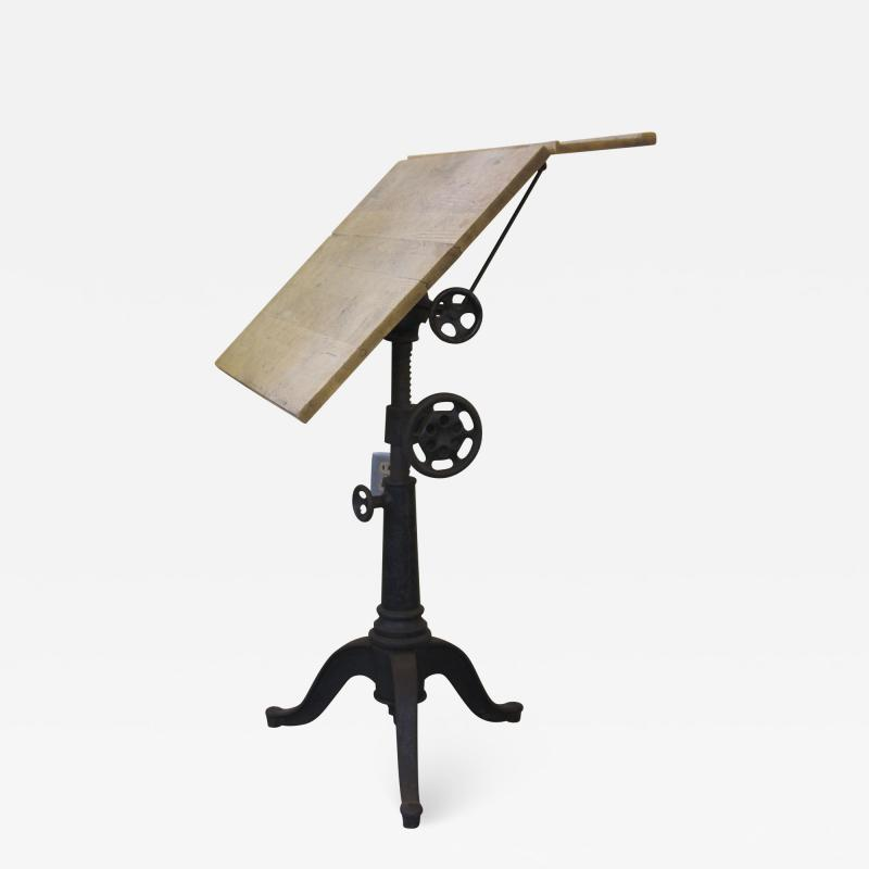 Small Turn of the Century Drafting Table