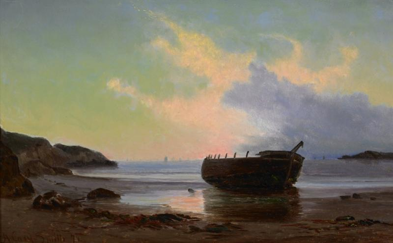 Archibald Cary Smith Cove Scene at Dusk