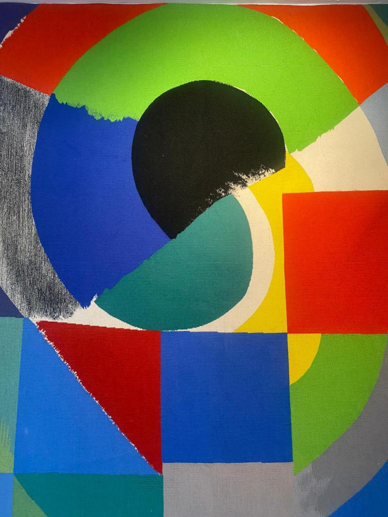 Sonia Delaunay Tapestry by Sonia Delaunay Finist re