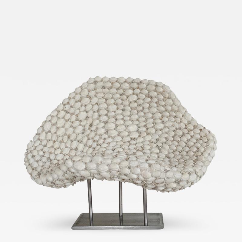 Sophie Brillouet SAGESSE I Seashell sculpture