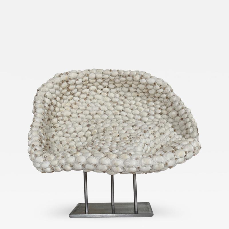 Sophie Brillouet SAGESSE II Seashell sculpture