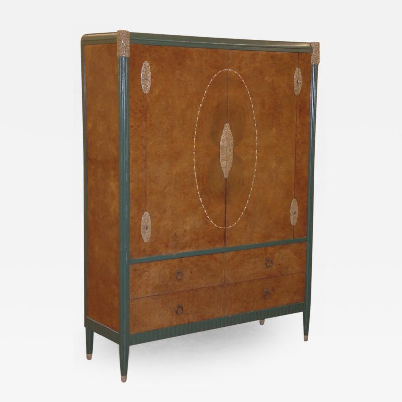 Soubrier Soubrier Cabinet with Lacquered Sculpting