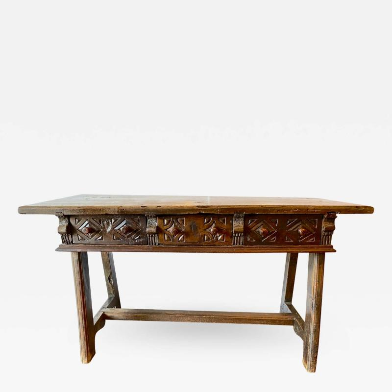 Spanish Colonial Writing Table or Console c 1790 1800