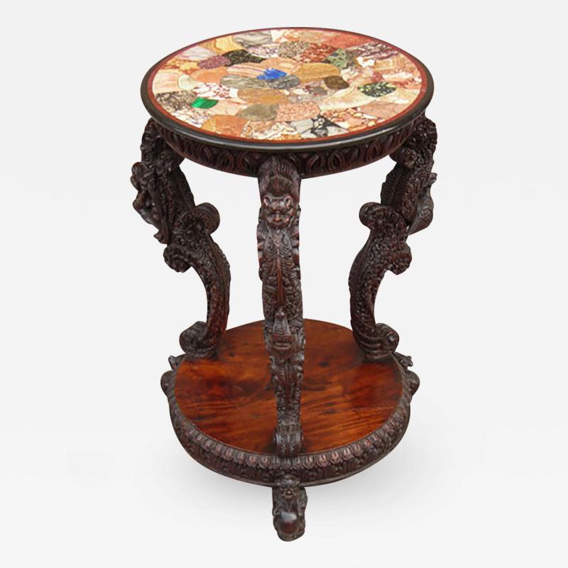 Specimen Marble Table