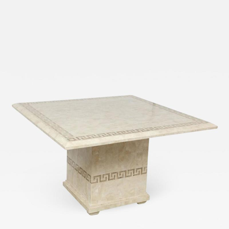 Square Marble Dining or Conference Table
